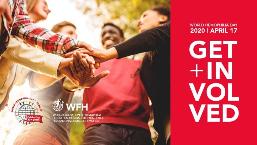 Banner om verdens hemofili-dag